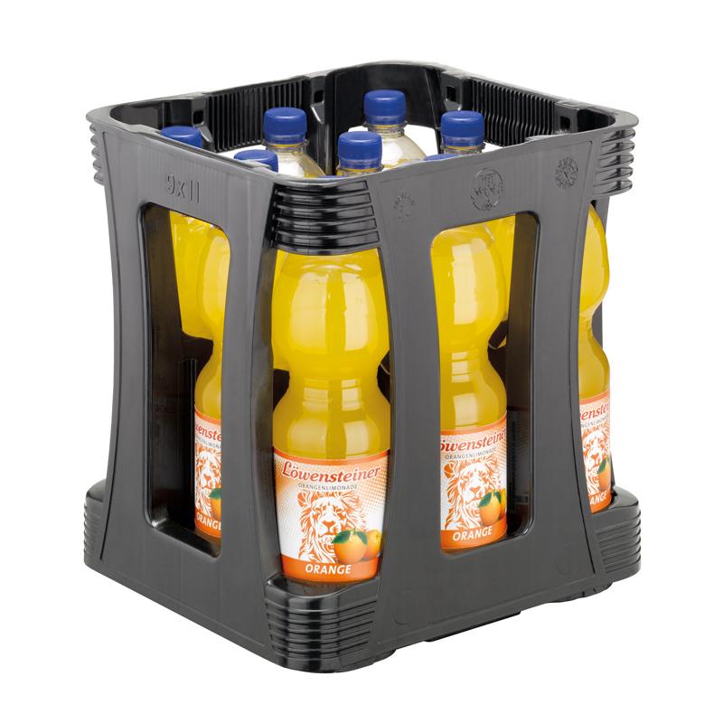 Orangenlimonade 1,0l-Kiste