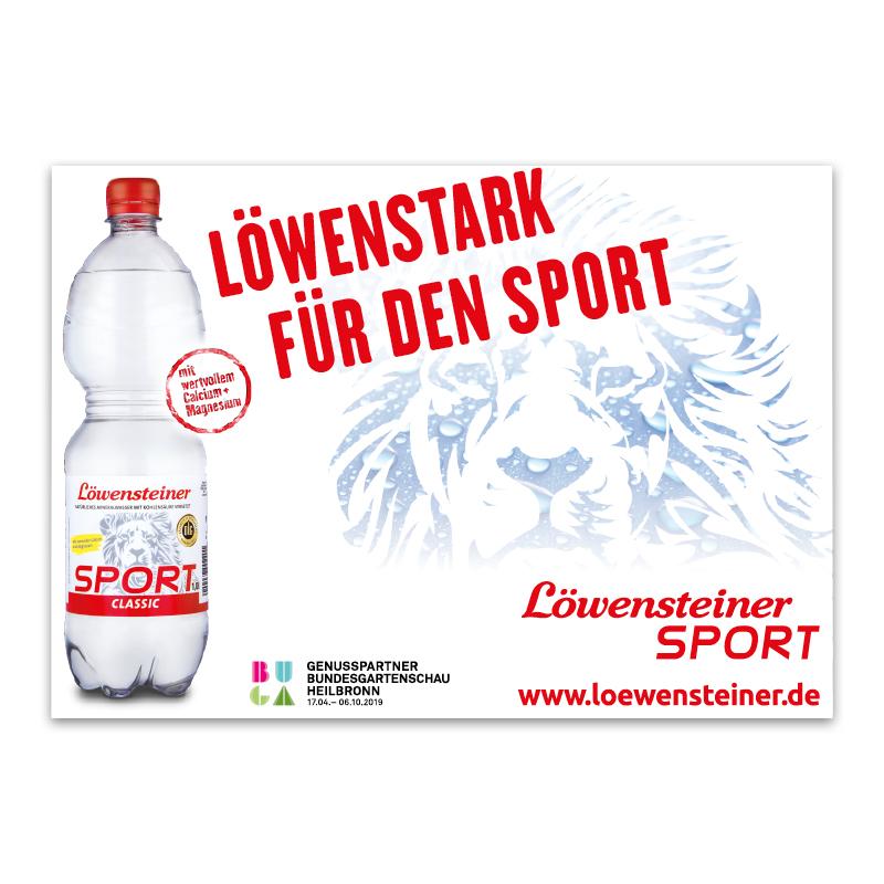 DIN A4-Anzeige / Sport