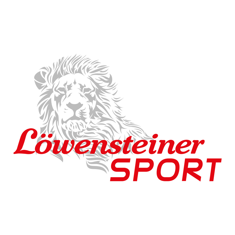 Logo Löwensteiner SPORT mit Löwe