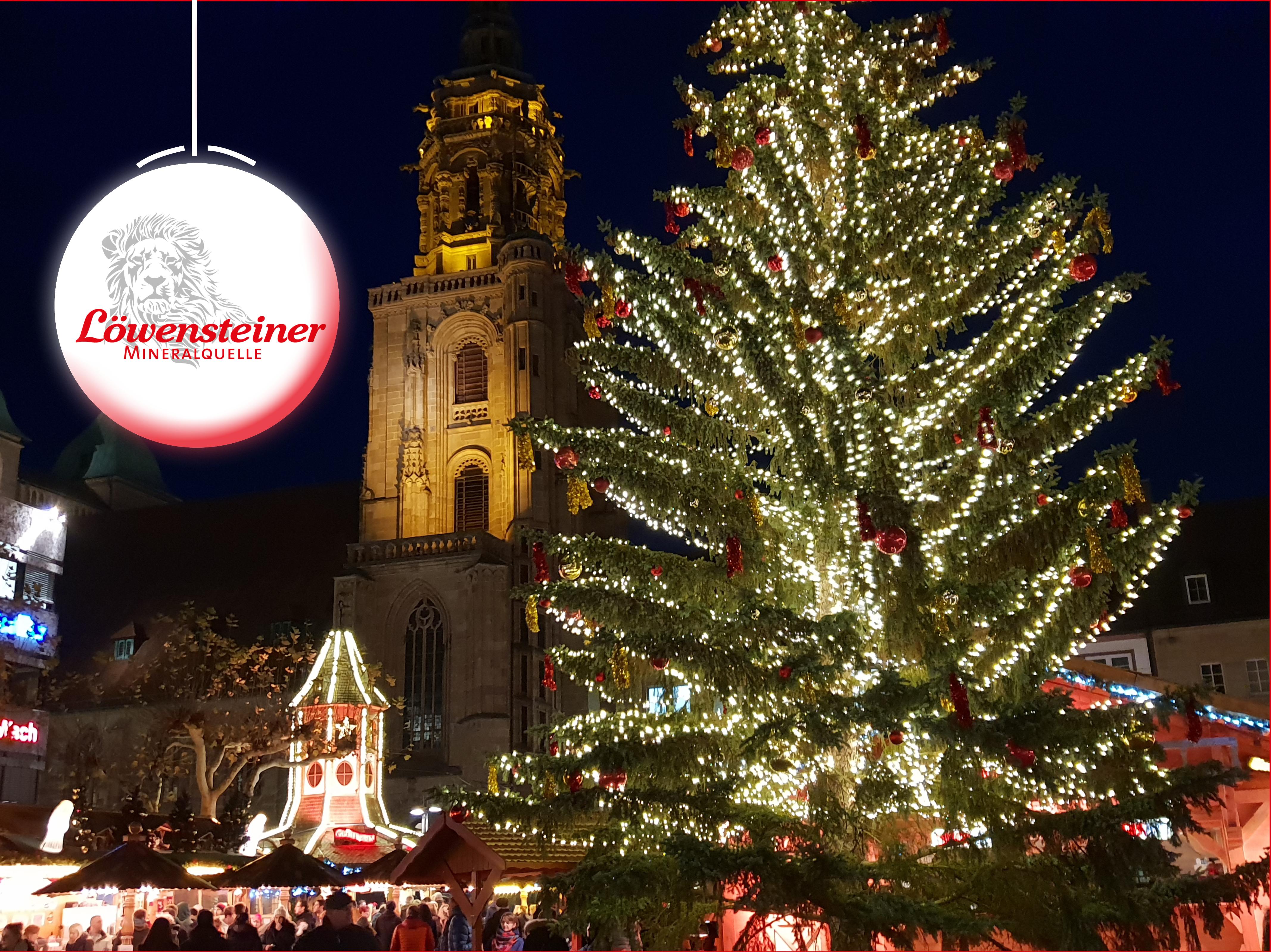 Weihnachtsmarkt Heilbronn.Heilbronner Weihnachtsmarkt 27 11 18 Bis 22 12 1018 Löwensteiner