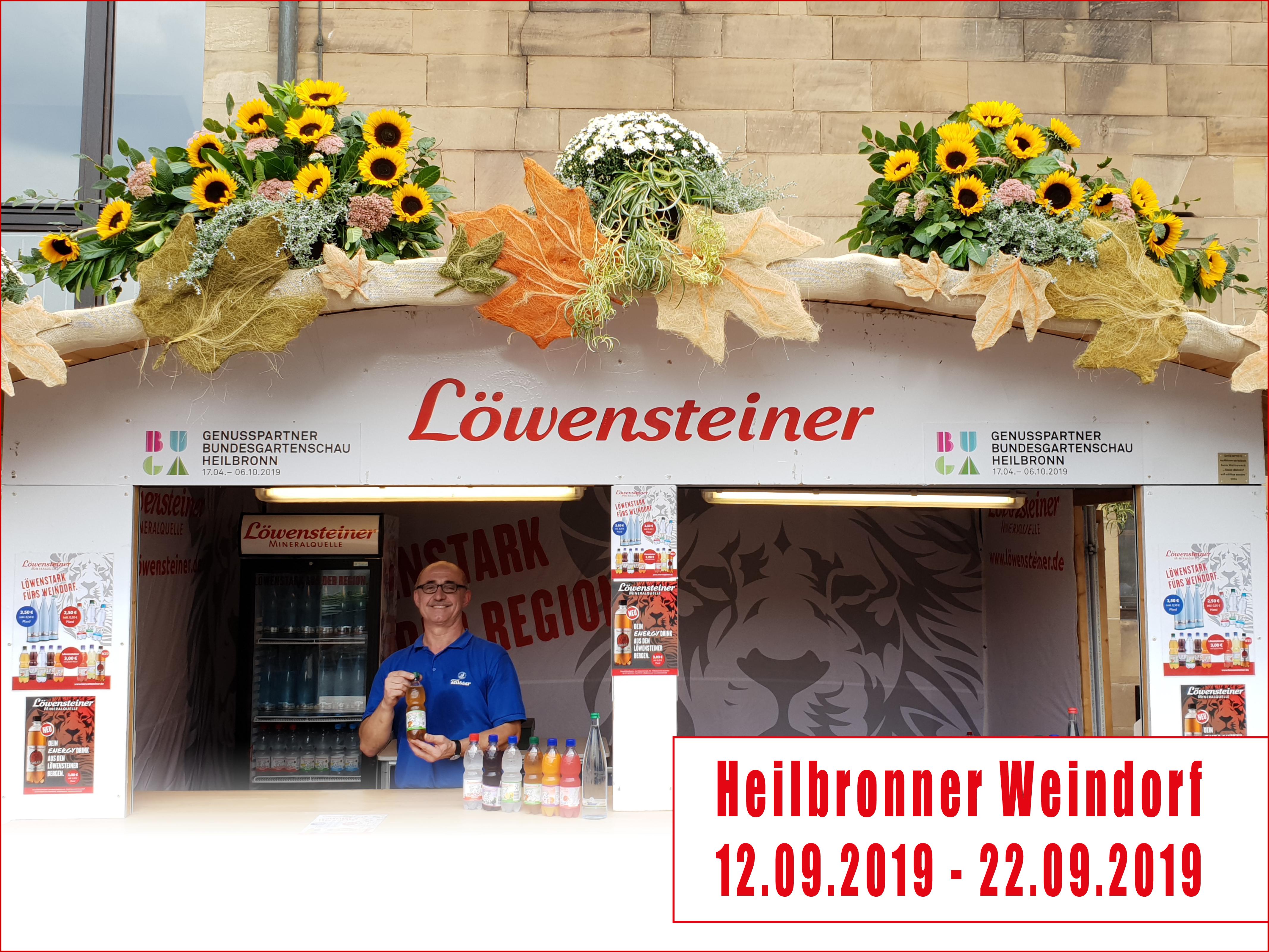 Löwenstarkes Heilbronner Weindorf 2019